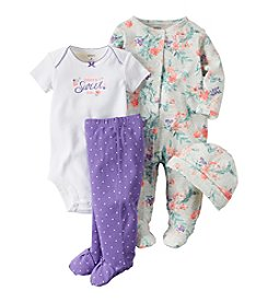 Carter's® Baby Girls' 4-Piece Daddy's Sweet Girl Set