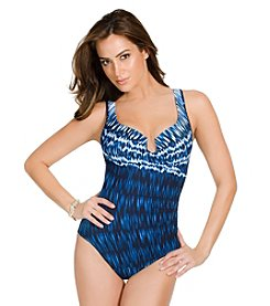 Miraclesuit® Indigo-Go Escape One-Piece