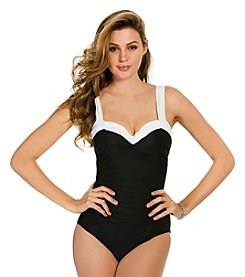 Miraclesuit® Block Party Saxon Tank One-Piece