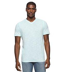 Calvin Klein Jeans® Men's Short Sleeve Acid Washed V-Neck Tee