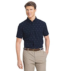 Izod® Men's American Rivera Short Sleeve Button Down Shirt