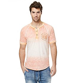 Buffalo by David Bitton Men's Nilet Short Sleeve Henley Tee