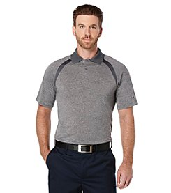 PGA TOUR® Men's Ventilated Pieced Short Sleeve Polo