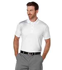 PGA TOUR® Men's Vanishing Argyle Print Short Sleeve Polo