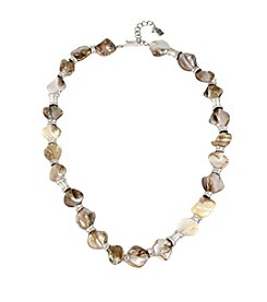 Robert Lee Morris Soho™ Shell Stone Necklace