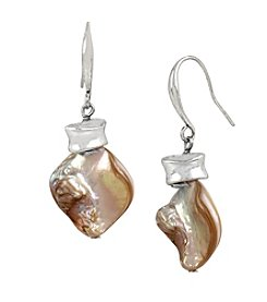 Robert Lee Morris Soho™ Shell Stone Drop Earrings