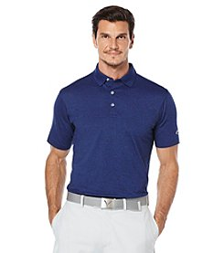 Callaway® Men's Opti Stretch Heathered Solid Short Sleeve Polo