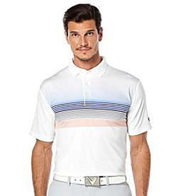 Callaway® Men's Fade Printed Short Sleeve Polo