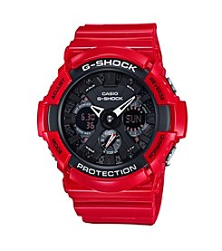 G-Shock Men's Xl Ana-Digi Red With Black Watch