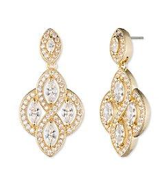 Anne Klein® Goldtone Chandelier Earrings