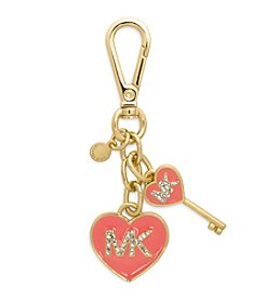 MICHAEL Michael Kors® MK Enamel Heart Key Fob