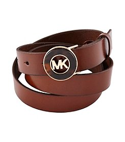 MICHAEL Michael Kors® Belt With Tortoise Plaque