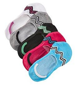 Steve Madden Five Pack Zig Zag Liner Socks
