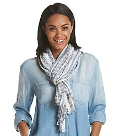 Basha Striped Nubby Scarf