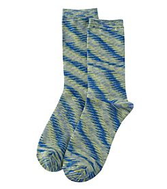 Relativity® Spacedye Crew Socks