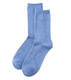 Relativity® Twist Crew Socks