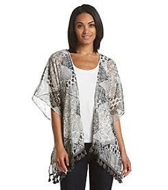 Collection 18 Paisley Party Kimono