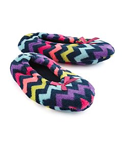 Fuzzy Babba® Chevron Slippers