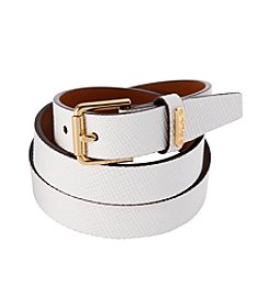 Lauren Ralph Lauren® Leather Endbar Belt