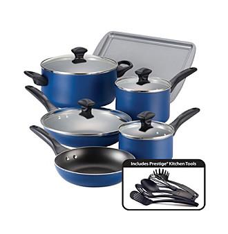 Farberware® Nonstick Aluminum 15-pc. Cookware Set