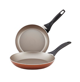 Farberware® Dishwasher Safe Nonstick Twin Pack Copper Sk