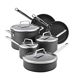 Anolon® Authority Hard-Anodized Nonstick 10-pc. Cookware