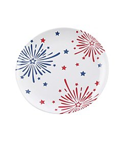 LivingQuarters Americana Round Plate