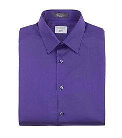 John Bartlett Statements Men's Slim Fit Stretch Solid Long Sleeve Shirt