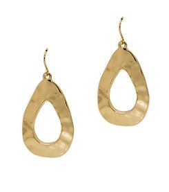 Lauren Ralph Lauren Amalfi Coast Organic Gypsy Hoop Earrings