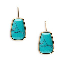 Lauren Ralph Lauren Capri Organic Stone Drop Earrings