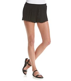 Boom Boom Crochet Trim Shorts