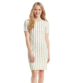 XOXO® Striped Sheath Dress