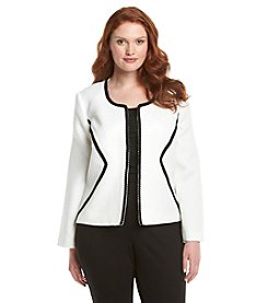 Nine West® Jacquard Fly Away Jacket