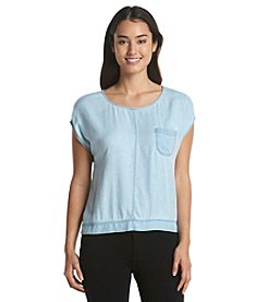 Vince Camuto® Boxy One Pocket Top
