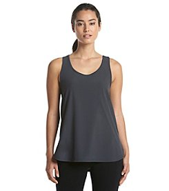 Calvin Klein Performance High Low Scoop Neck Tank