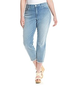 NYDJ® Plus Size Ira Relaxed Ankle Jeans