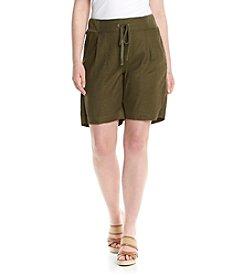 NYDJ® Plus Size Candace Bermuda Shorts