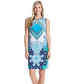 Madison Leigh® Paisley Keyhole Shift Dress