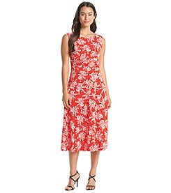 Jessica Howard® Floral Patterned Midi Dress