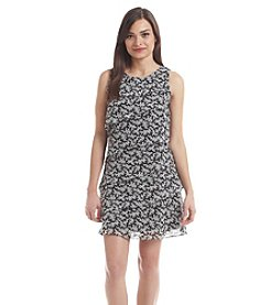 Jessica Howard® Petites' Sleeveless Tiered Dress