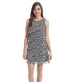 Jessica Howard® Petites' Sleeveless Tiered Dress