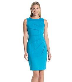 Calvin Klein Starburst Scuba Sheath Dress