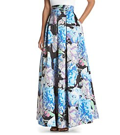 Eliza J® Ballgown Floral Printed Skirt