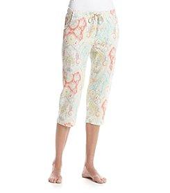 Echo Printed Pajama Capris