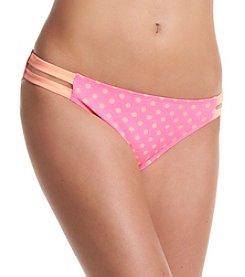 In Mocean® Capri Dot Bikini Bottoms