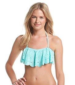 In Mocean® Leila Lasercut Bikini Top
