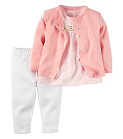 Carter's® Baby Girls' 3-Piece Geo Cardigan Set
