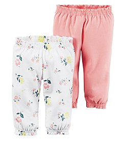 Carter's® Baby Girls' 2-Pack Floral Pants