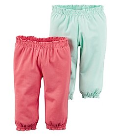 Carter's® Baby Girls' 2-Pack Pants