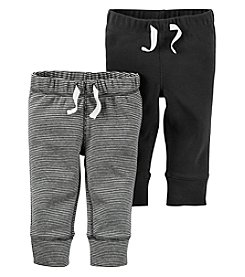 Carter's® Baby Boys 2-Pack Striped Drawstring Pants